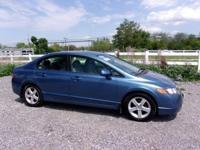 Honda Civic 1.8L I4 SOHC 16V i-VTEC 2007 EX Fiji Blue