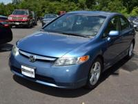 This 2007 Honda Civic Sedan 4dr EX Sedan AT features a