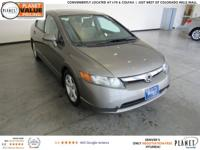 Borrego Beige Metallic 2007 Honda Civic EX 5-Speed