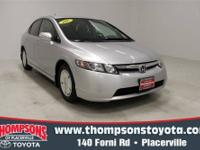 This Economical Civic is strong on comfort and safety ,