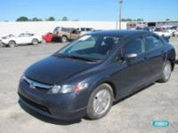 Options Included: N/AHonda Civic 4 dr L4 1.3L auto -
