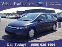 Local trade-in!! 2007 Honda Civic Hybrid w/ ONLY 73k