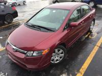 This 2007 Honda Civic Sdn LX is offered to you for sale