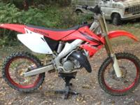 2007 Honda CR-125R - Very quick and fun to ride. All