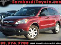 We are happy to offer you this 2007 Honda CR-V EX which