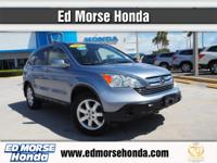 This outstanding example of a 2007 Honda CR-V EX-L is