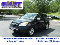 This 2007 Honda CR-V EX-L is offered to you for sale by