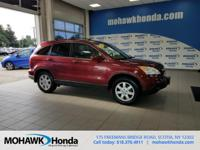 Recent Arrival! This 2007 Honda CR-V EX-L in Tango Red