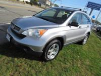 Clean CARFAX. Green Tea Metallic 2007 Honda CR-V LX AWD
