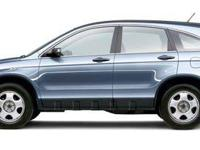 CARFAX One-Owner. BLUE 2007 Honda CR-V LX AWD 5-Speed