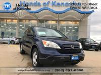 New Price! 2007 Honda CR-V LX FWD 5-Speed Automatic