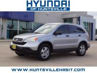 Whistler Silver Metallic 2007 Honda CR-V LX **One
