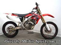 2007 Honda CRF450 (no speedometer) As an off-road and