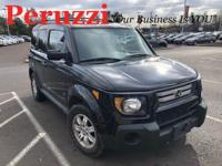Clean CARFAX. 2007 Honda Element EX AWD 5-Speed