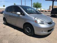 Meet our 2007 Honda Fit Sport! Our wallet friendly,