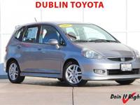 Dublin Toyota is pleased to offer this 2007 Honda Fit.