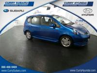 Come see this 2007 Honda Fit Sport. Its Automatic
