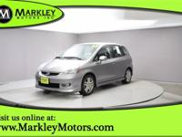 Meet our great looking 2007 Honda Fit Sport shown in