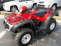 2007 HONDA FOREMAN RUBICON TRX500FA This ATV only has