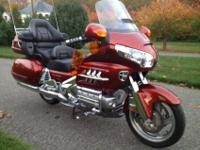 This is a really good 2007 HONDA GL1800 GOLDWING. The