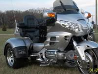 2007 Honda Goldwing GL1800 Motor Trike Conversion. 2007
