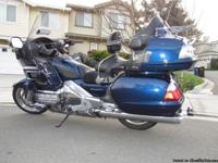 2007 Honda Goldwing GL1800, only 8,700 miles! Always