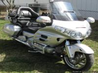 2007 Honda Goldwing, GL1800-P7, 43,562 MILES This bike