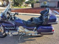 2007 Honda Goldwing. This bike has 19,500 miles. Custom