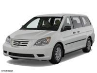 Options:  2007 Honda Odyssey Ex-L|Mini Van|The Rear Air