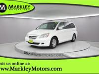 Our Carfax Accident-Free 2007 Honda Odyssey EX-L shown