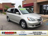**HARD TO FIND** 2007 Honda Odyssey EX-L with only