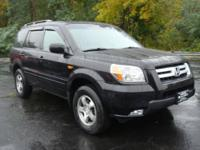 Only 1 previous owner on this 2007 Honda Pilot EX-L