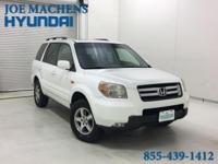 Clean Carfax and Sunroof. Pilot EX-L, 4D Sport Utility,