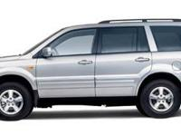 GORGEOUS ONE-OWNER HONDA PILOT EX-L WITH LEATHER