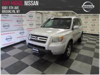 This 2007 Honda Pilot EX-L is proudly offered by Bay