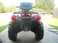 I have a 2007 Honda Rancher 420 4x4 (RED). It has 28