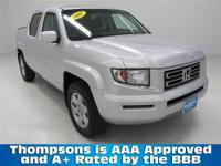 LOADED-UP HONDA RIDGELINE: ........2007 Honda Ridgeline
