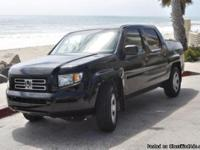 2007 Honda Ridgeline RT 4 x 4. One owner. 76,100