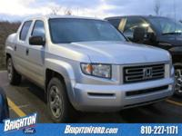 Cloth. 2007 Honda Ridgeline RT 4WD 5-Speed Automatic