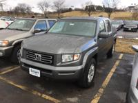 You can find this 2007 Honda Ridgeline RTL w/Leather