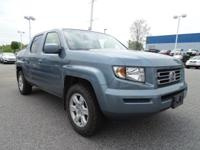 EPA 21 MPG Hwy/16 MPG City! RTS trim, Steel Blue