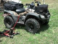 2007 L.E. Honda Rincon TRX680FA GPS ATV in Natural Gear