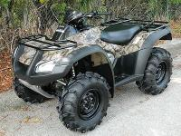 2007 HONDA RINCON 680 EFI CAMOUFLAGE IN COLOR 4X4