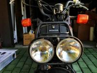 I am selling my 2007 Black Honda Ruckus For Sale with