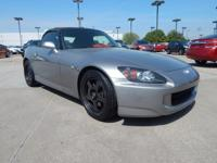 Excellent Condition. S2000 trim. Leather, CD Player,