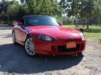 Our track-tuned 2007 Honda S2000 Convertible in