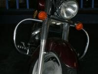 2007 HONDA SABRE 1100 PRICED LOW OWNER WANTS IT SOLD