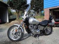 2007 Honda Shadow 1100 Sabre This cruiser cycle has