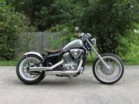 2007 Honda Shadow 600 VLX Deluxe that has been