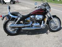 We are selling a very clean 2007 Honda Shadow Spirit